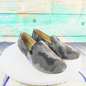 Reve Dun Jour Moun  Camo Fashion Loafers Size 10.5